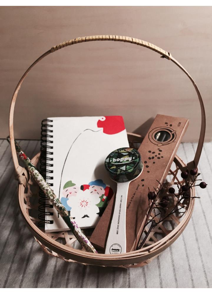 和式文房具小禮包 • 惠比壽