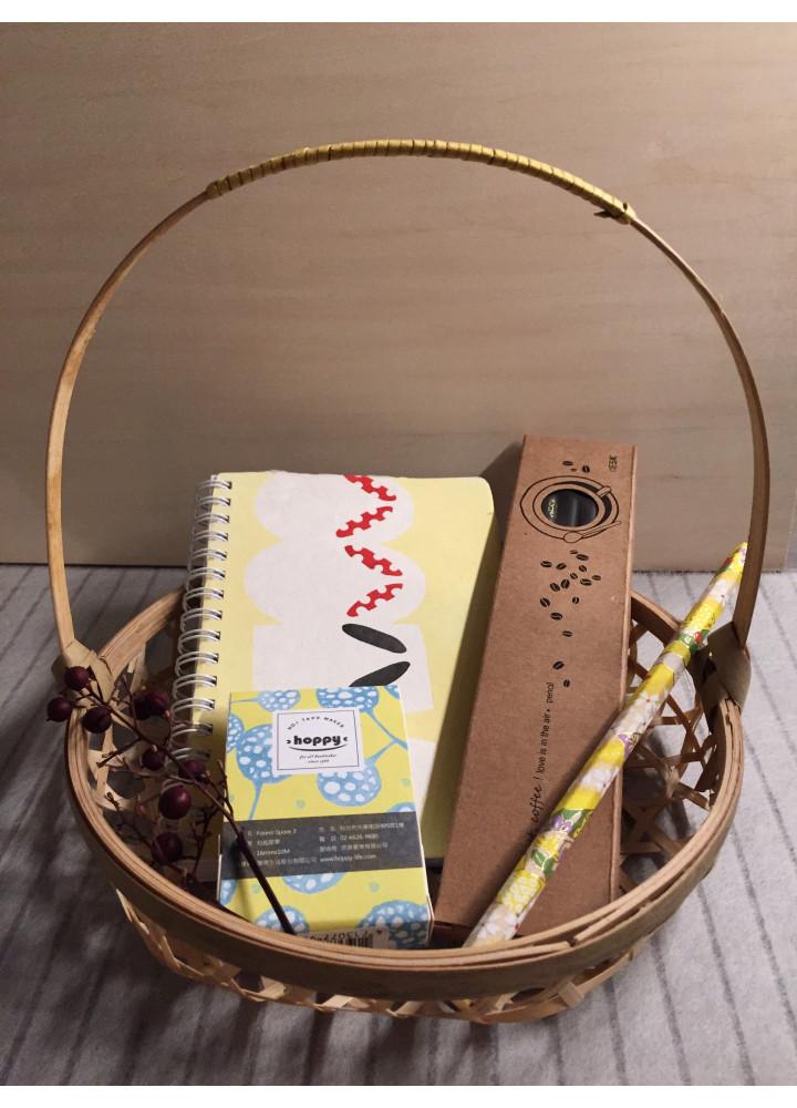 和式文房具小禮包 • 木履
