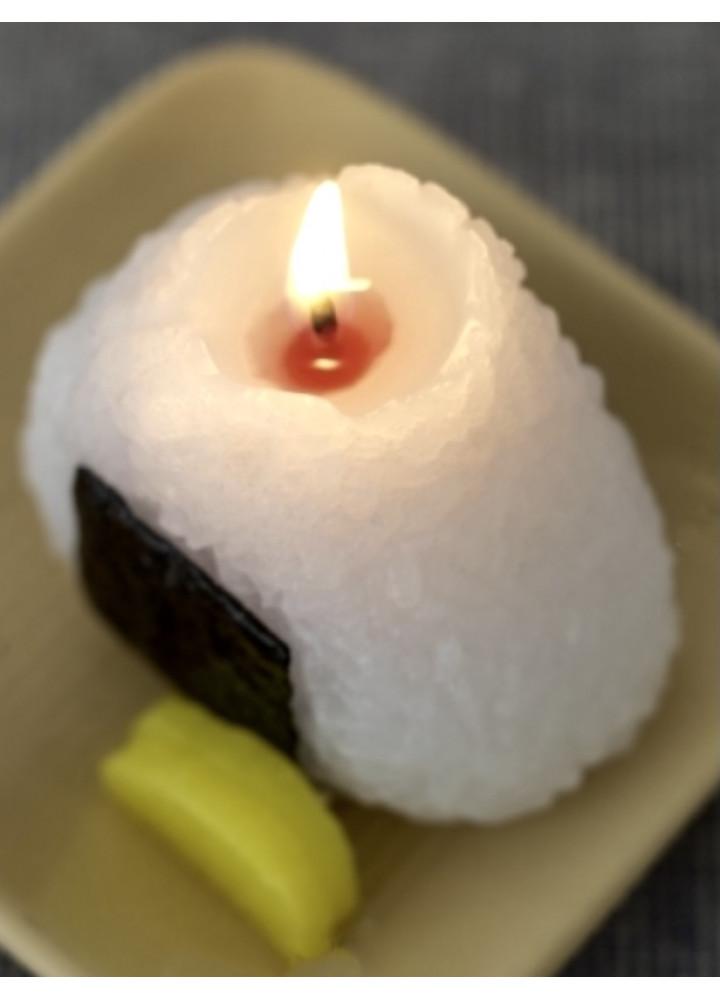 飯團蠟燭 • 梅干入り