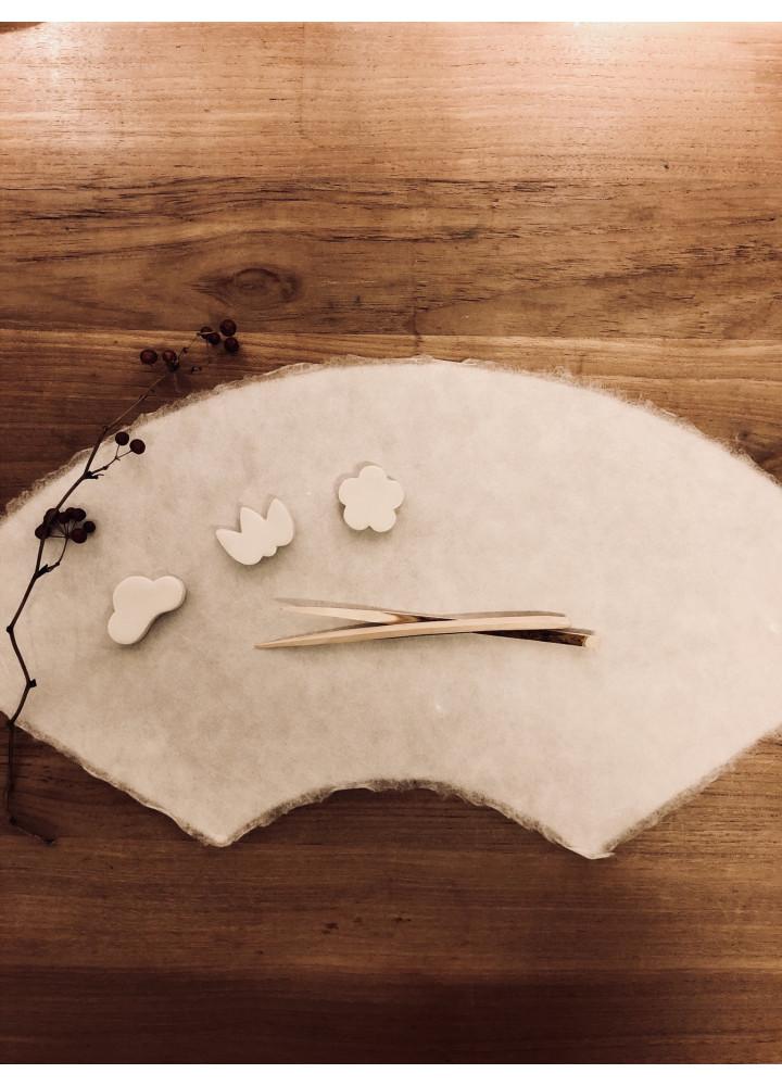 酒器今宵堂 • 松、竹、梅箸置