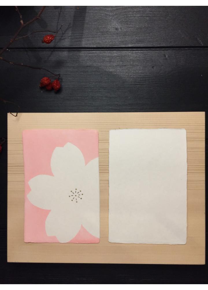 羅工房 • 手摺和紙明信片 • 櫻花