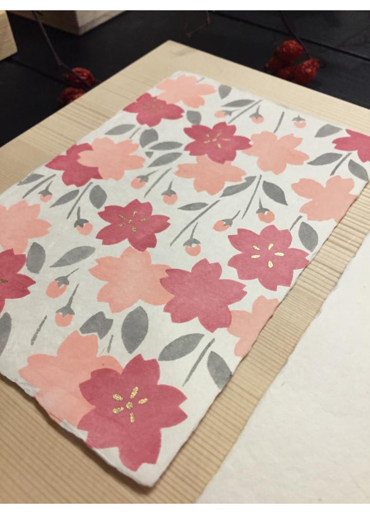 羅工房 • 手摺和紙明信片 • 櫻花園