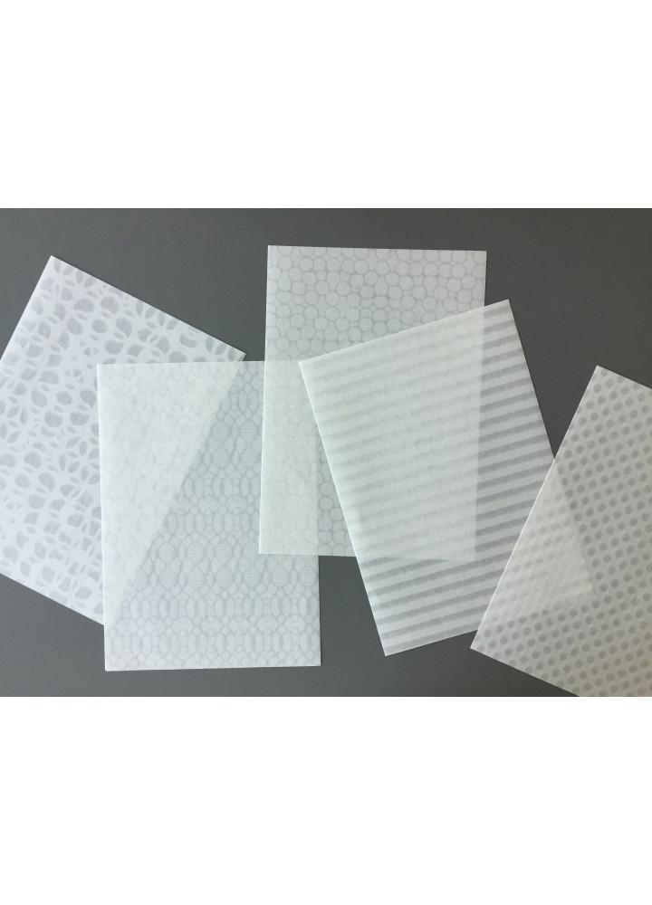 3120 Mino A5 Writing Paper 半透明和紙印花信紙