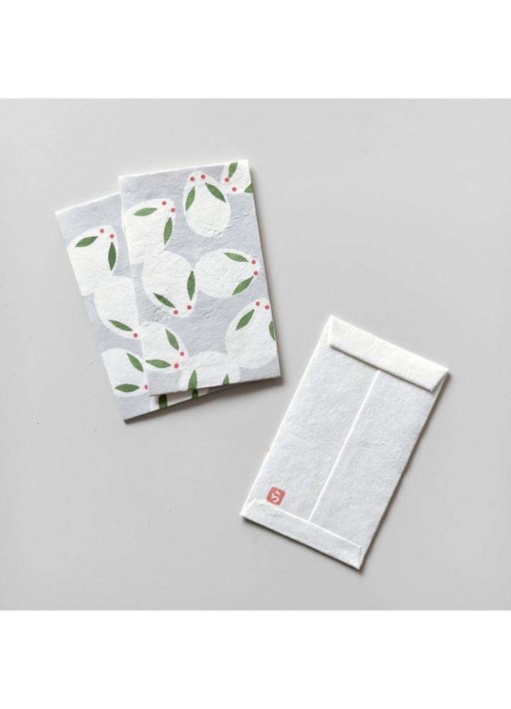 羅工房 • 和紙手摺封 • 月兔