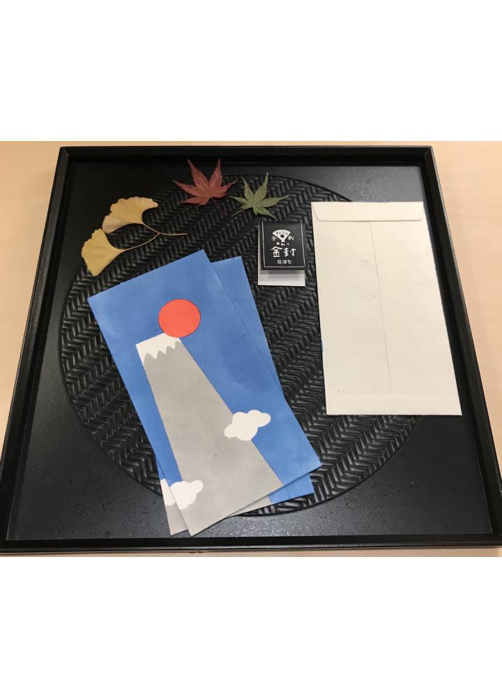 羅工房 • 和紙金封 • 富士山