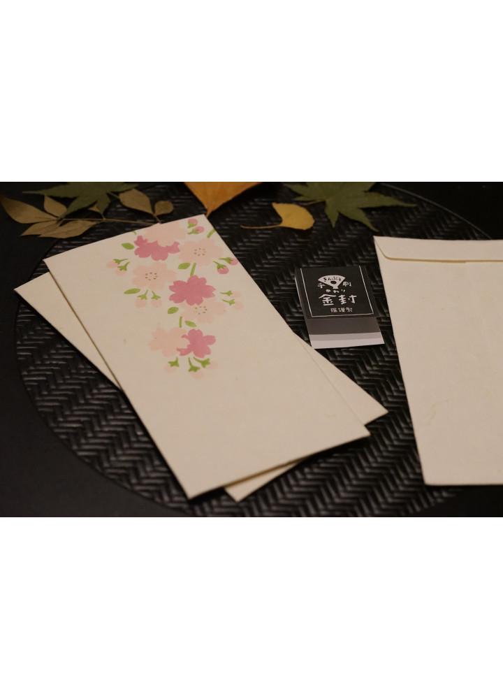 羅工房 • 和紙金封 • 垂櫻