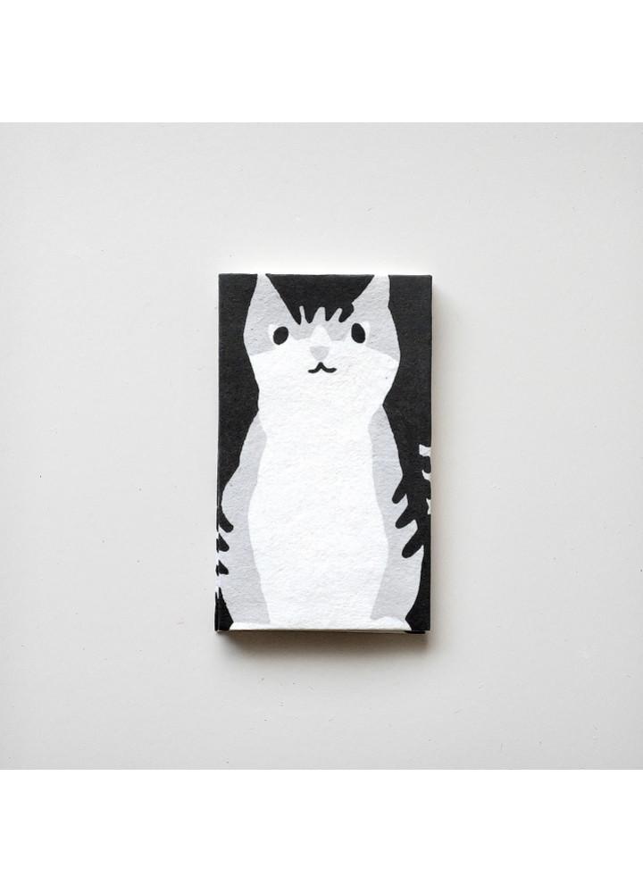 羅工房 • 和紙手摺封 • 猫