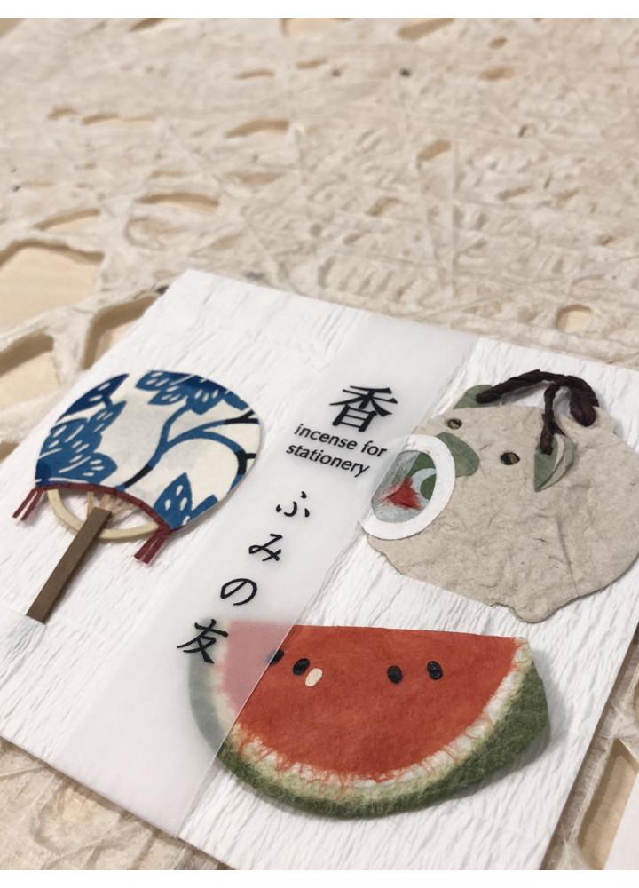 大直和紙 • 文香小包  (午睡)