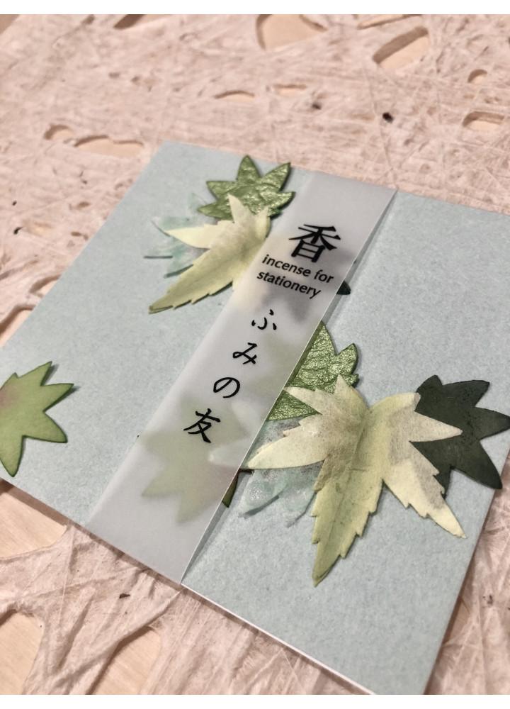 大直和紙 • 文香小包  (葉)