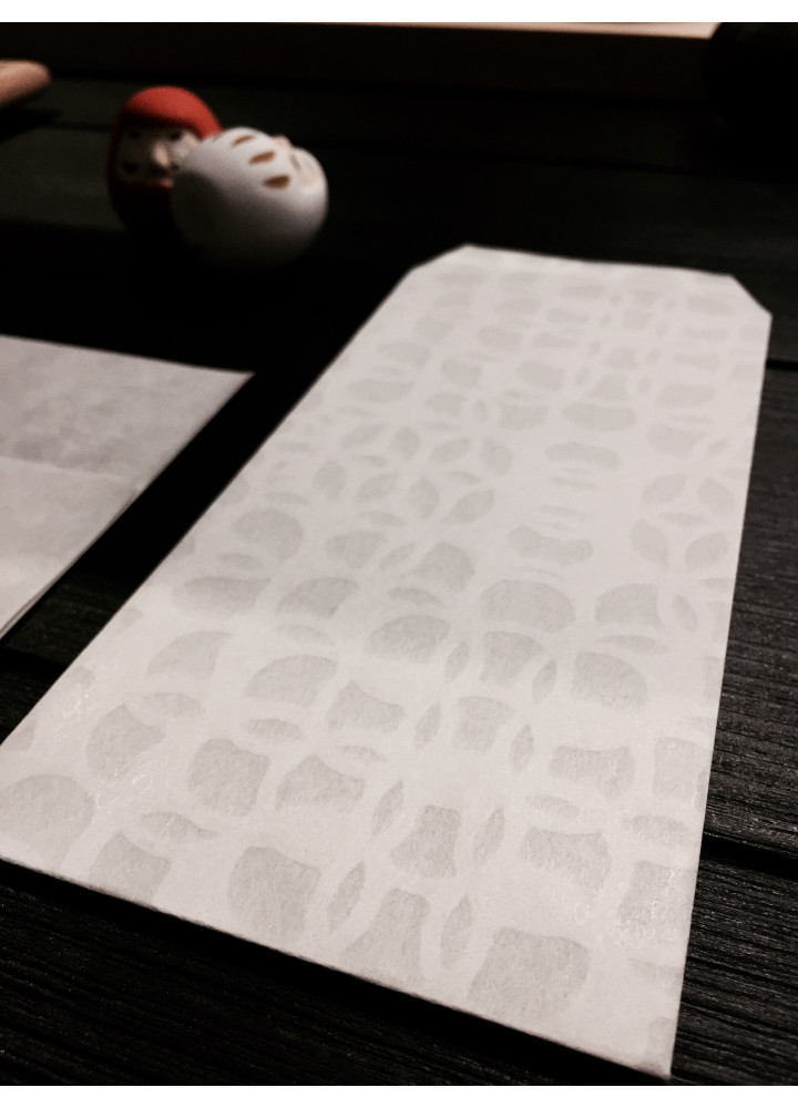 3120 Mino 半透明和紙印花信封 • Prism
