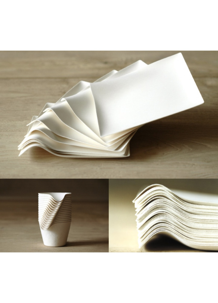 WASARA 紙容器 • 角皿 (大)