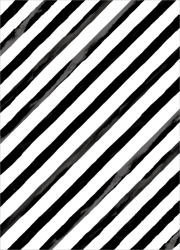 記事本封面 - Slant in black