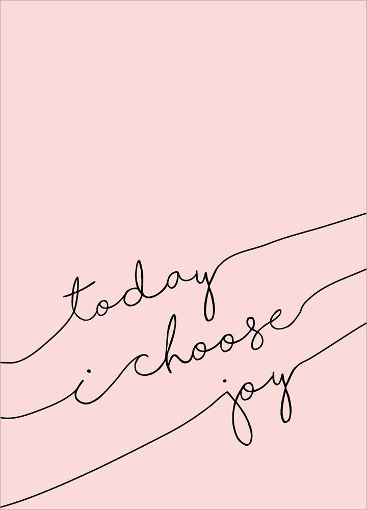 記事本封面 - Today I choose joy