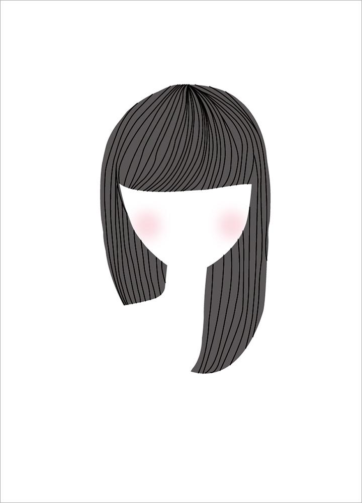記事本封面 - Girl's face