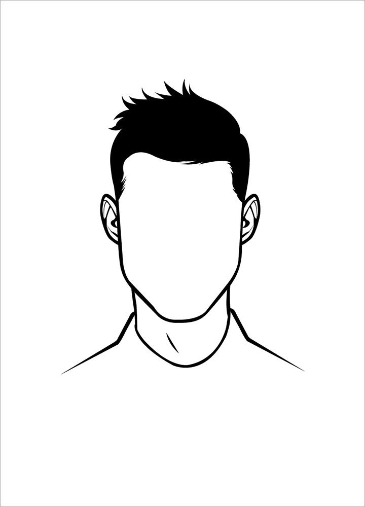 記事本封面 - Boy's face