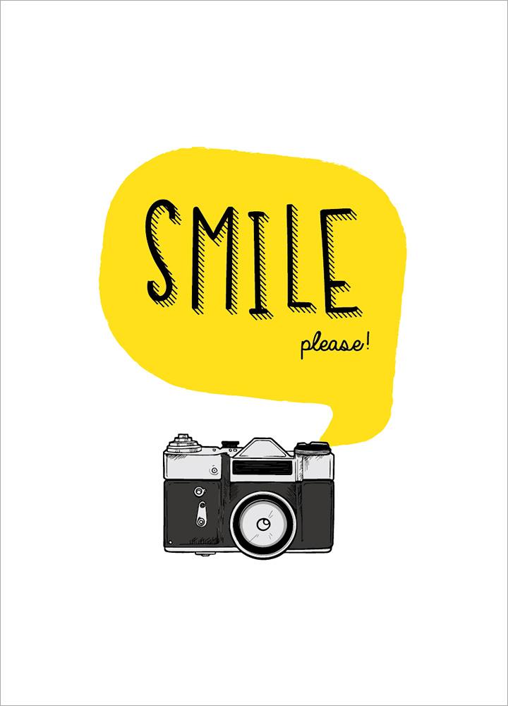 記事本封面 - Smile please!