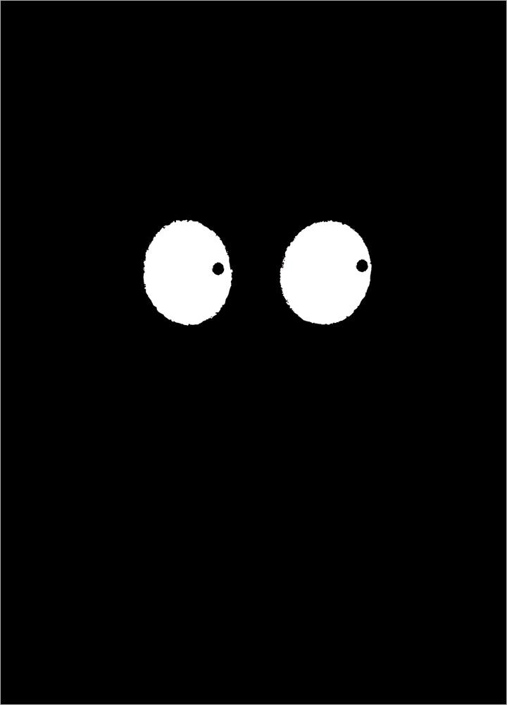 記事本封面 - Eyes in dark