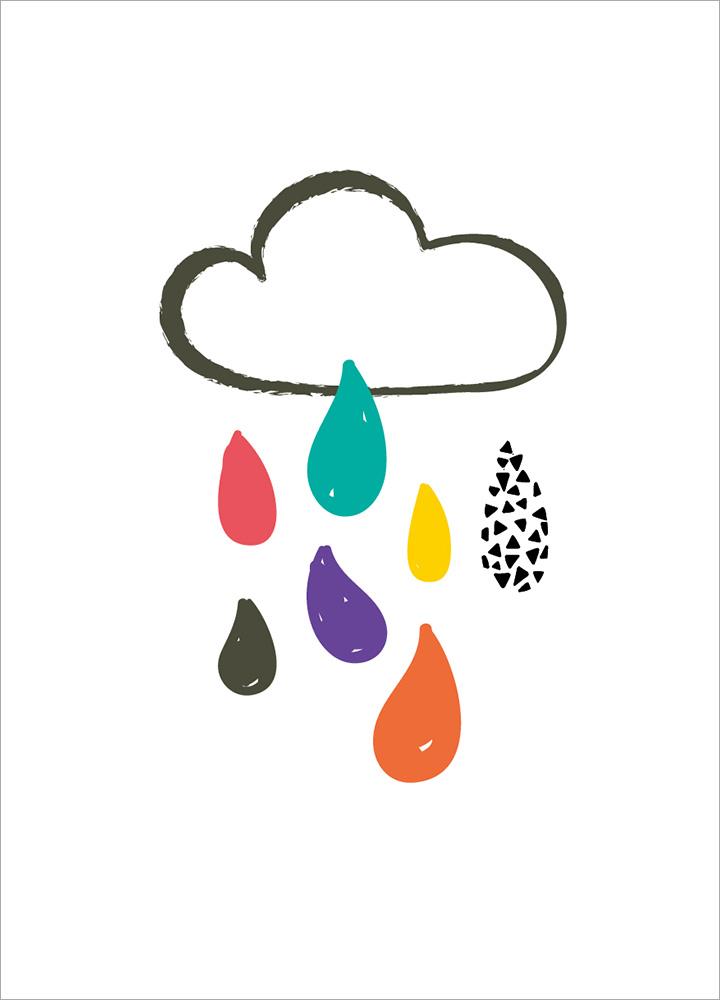 記事本封面 - Happy raindrop
