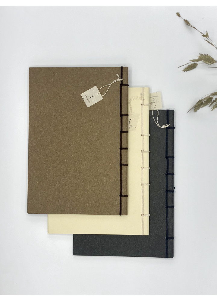 Kakura • 繩綁和紙記事本 • 大號