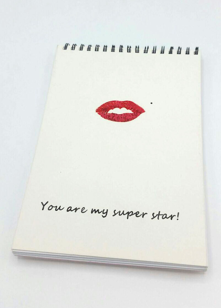 記事本封面 - You are my super star