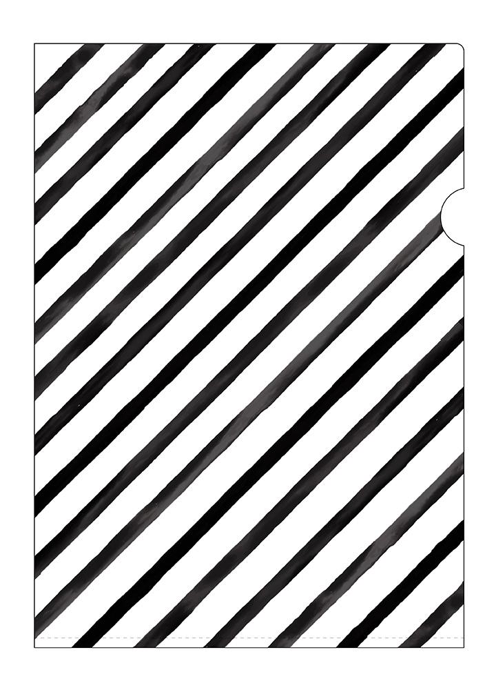 PP 膠文件夾 • Slant in black