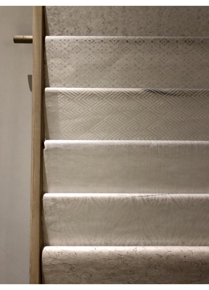 Wacca paper • 手漉き 楮薄様紙 ( 菱青海波 )